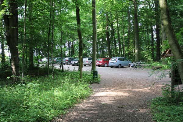 Bild RuheForst Parkplatz